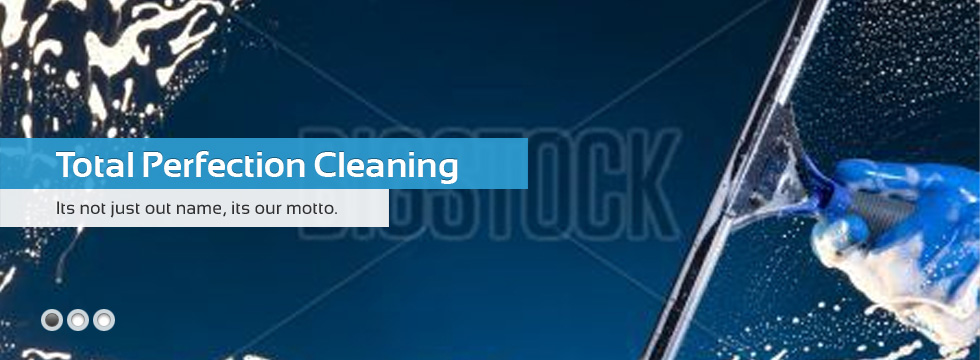 Homepage Banners Total Perfection Cleaning